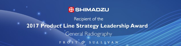 Frost and Sullivan Award for 2017 Product Line Strategy Leadership Award - General Radiology